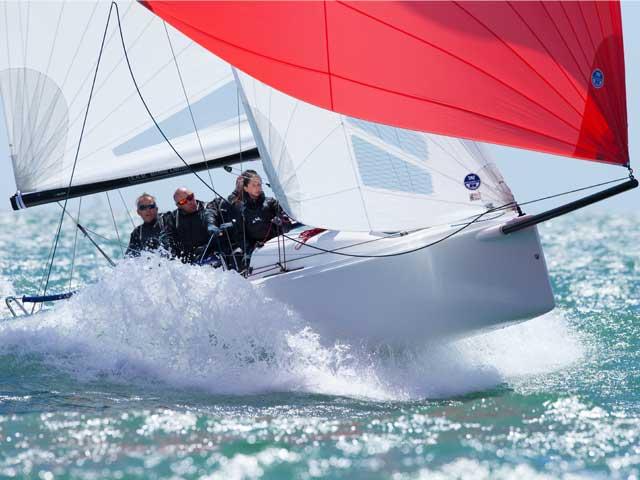 3 stk. J/70 sportsbåde til Horsens Sejlklub