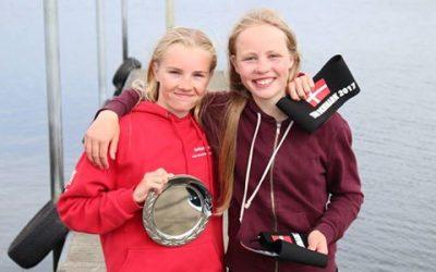 2 optimist sejlere fra Horsens Sejlklub til Nordiske Mesterskaber!