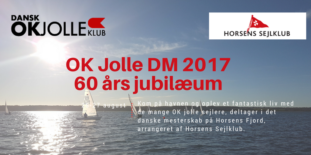 Stort set-up på havnen til OK jolle DM den 24. til 27. august