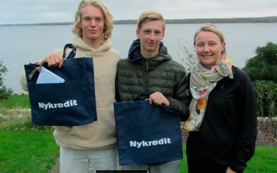 Nykredit, Sailor of the year 2017 går til Horsens til OL aspiranter
