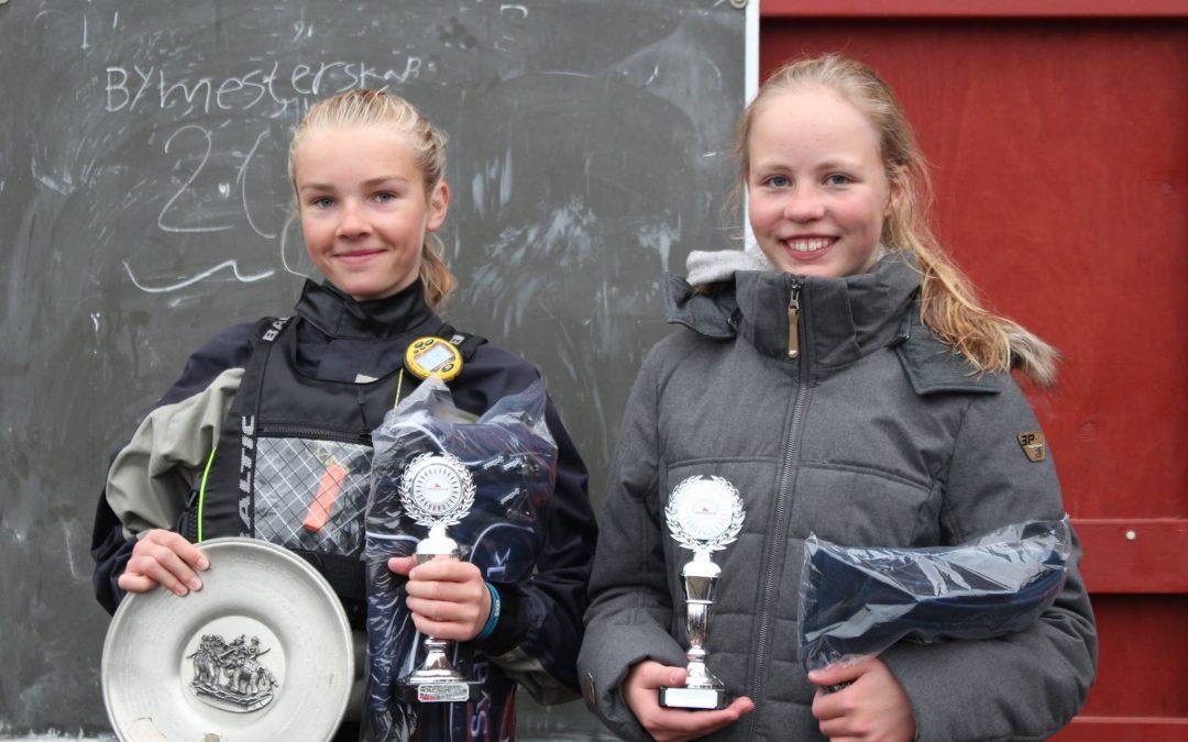 Resultater bymesterskab for joller 2017
