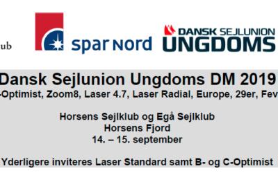 Ungdoms DM for joller i Horsens i denne weekend
