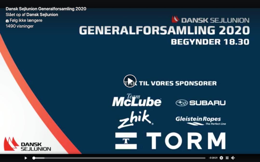 Generalforsamling Dansk Sejunion