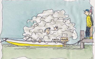 Mindske forureningen fra bådmotorer