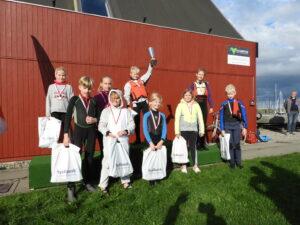 Bymesterskab for joller 2020 - Præmieoverrækkelse hold 2