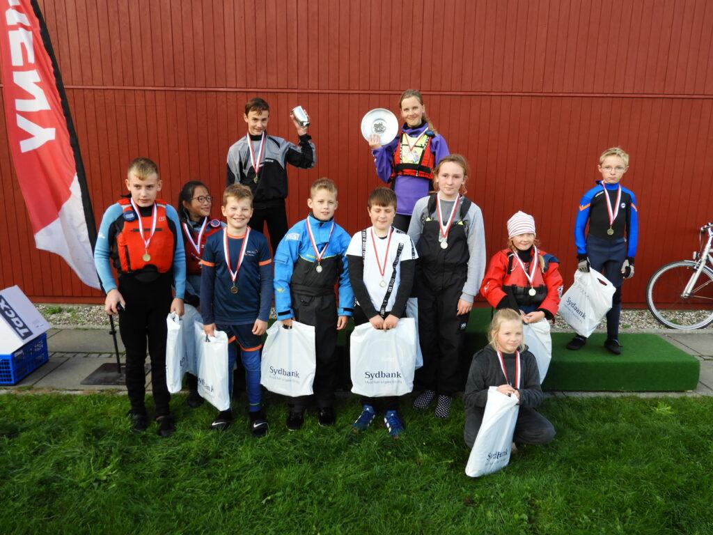 Bymesterskab for joller 2020 - Præmieoverrækkelse hold1