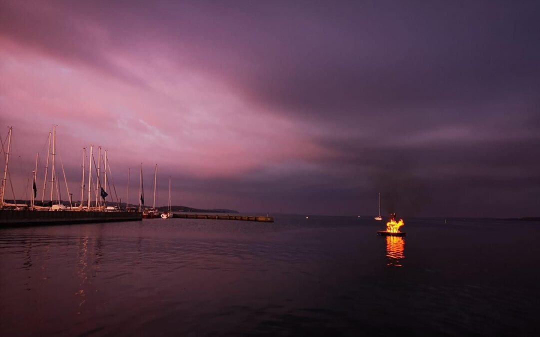Sankthans aften i Horsens Sejlklub